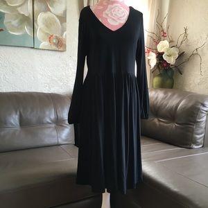 Old Navy Long Sleeve Midi Dress